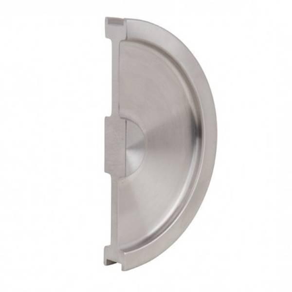 13 cm Hafele moderne Droite Porte Poignée de verrouillage couvre-Chrome Poli