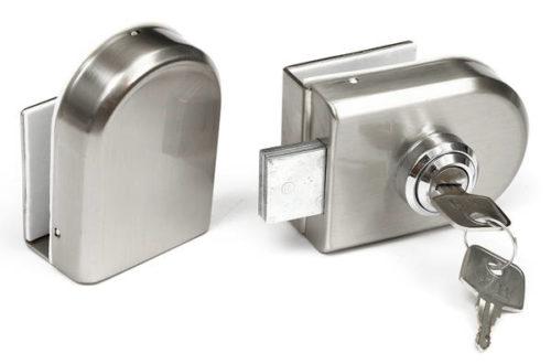 70 mm de Long//couvre-lit Double pour portail de 5 porte-cl/és en acier inoxydable avec poign/ée Noir